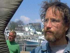 Jaws star floored by question