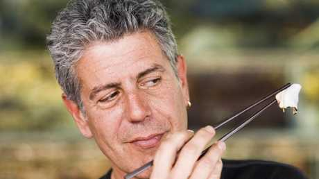 Anthony Bourdain was an acerbic critic and a colourful writer. Picture: Supplied
