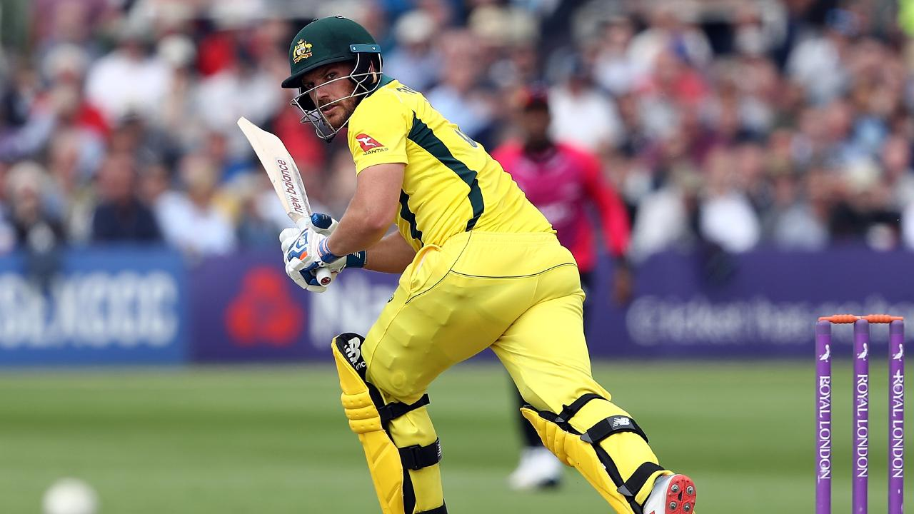 Aaron Finch chimed in with a 50 against Sussex.