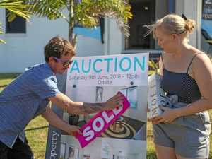 Auction competition no match for keen young couple