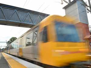 Coast trains shutdown after man fell on tracks