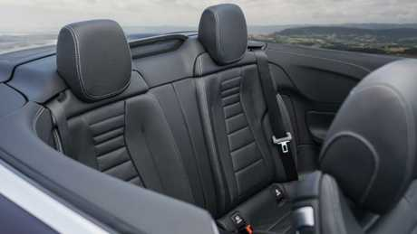 Family friendly: It's a genuine four-seater, with ample active safety gear