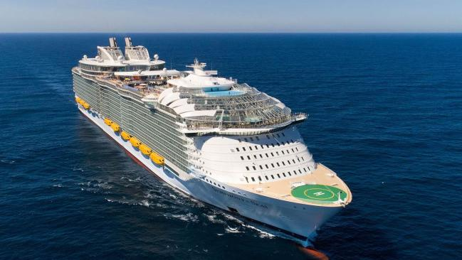 One of Royal Caribbean's ships the Symphony of the Seas