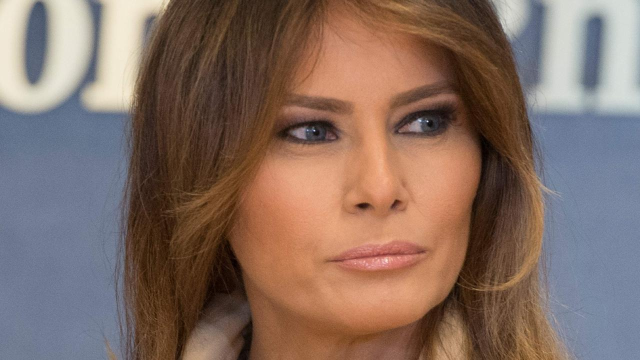 US First Lady Melania Trump's mystery illness has fuelled endless rumours and conspiracy theories. Picture: AFP Photo/Jim Watson