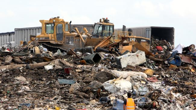 A plan to burn rubbish to generate power will reduce landfill.