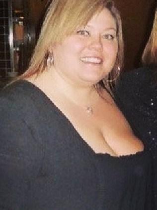 Amanda Nauffts said she put on weight after having twins.