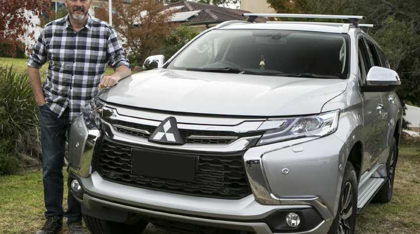 Barry Du Bois reckons his Mitsubishi Pajero Sport suits his lifestyle