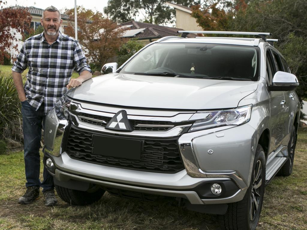 Du Bois says the Mitsubishi Pajero Sport suits his family