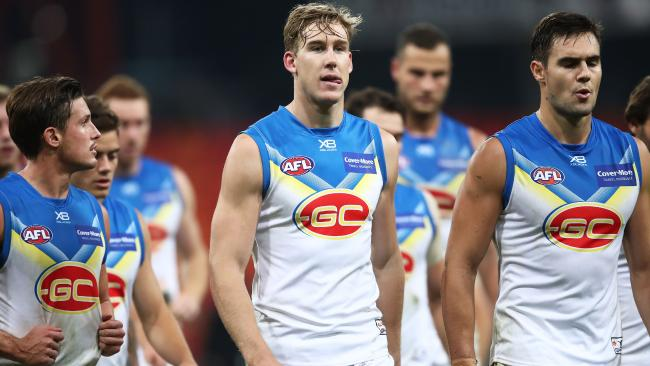 It was another horror loss for the Suns. Picture: Getty Images