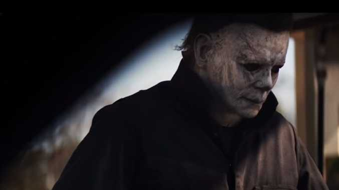Michael Myers and Jamie Lee Curtis return with latest Halloween instalment.