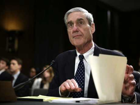 The charges could be an effort by Special Counsel Robert Mueller to induce a guilty plea and secure the testimony of a critical campaign adviser to Trump. Picture: AFP