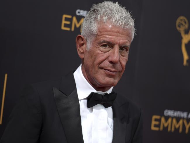 Anthony Bourdain had no qualms about addressing his past. Picture: Richard Shotwell