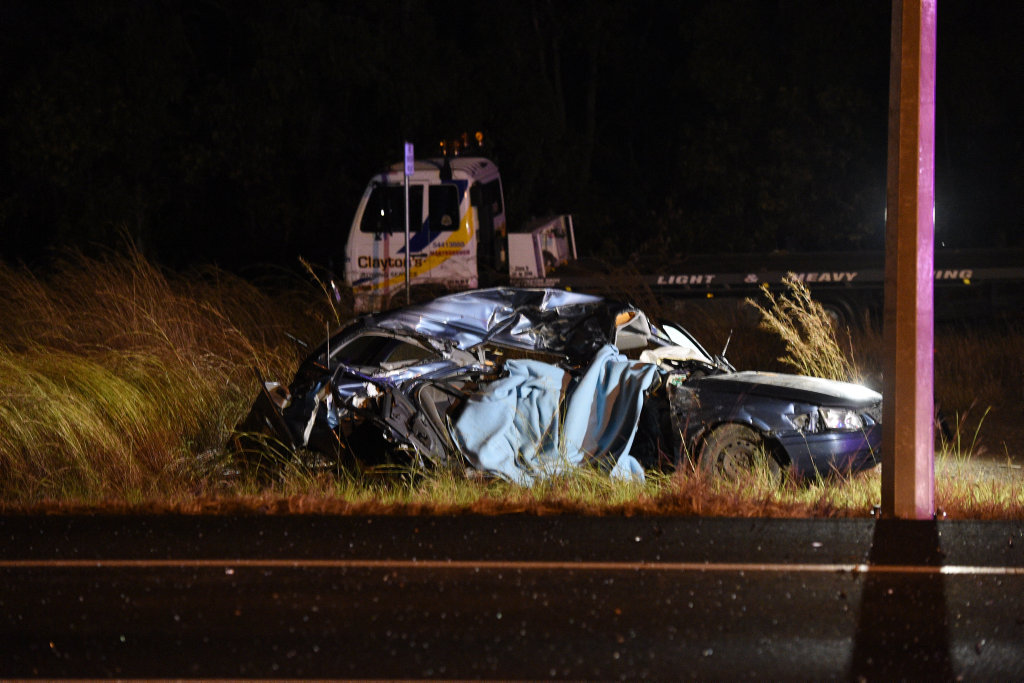 Fatal accident Bruce Highway and Gympie St Torbanlea.