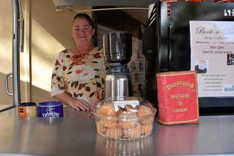 NOVEL IDEA: Calliope Library's coffee van
