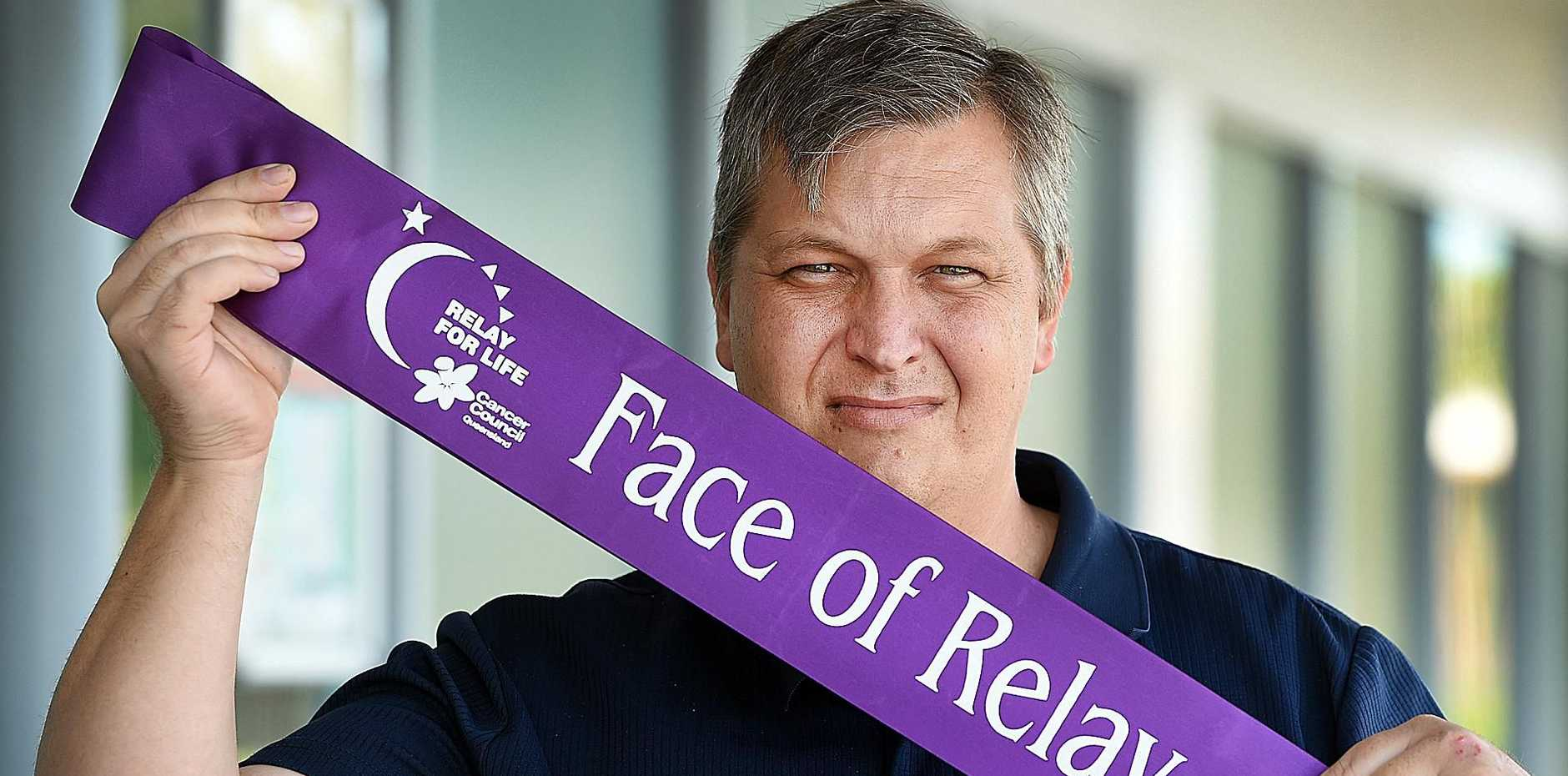 FRESH FACE: Matthew Selke has been announced as Face of Relay for Life Hervey Bay for 2018.