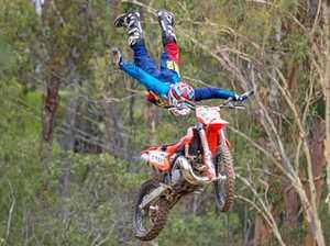 Man injured at Coast motocross park