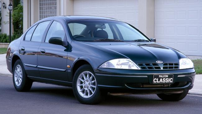 It's a classic: 1999 Ford Falcon might give way to a German luxe sedan