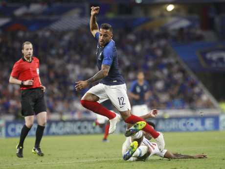 France missed several first-half chances in the match.