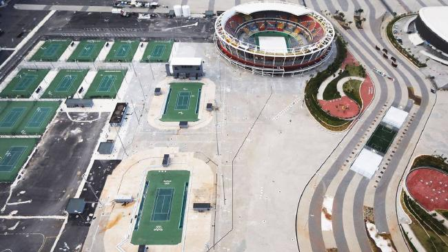 Many of the costly venue sites for the Rio Olympics have been abandoned. The IOC is changing its model for future bids. Picture: Getty