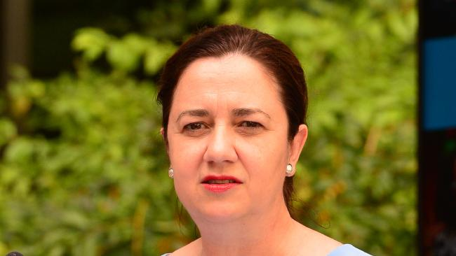 Premier Annastacia Palaszczuk is being urged to consider a freeze on hiring senior public servants. Picture: Zak Simmonds