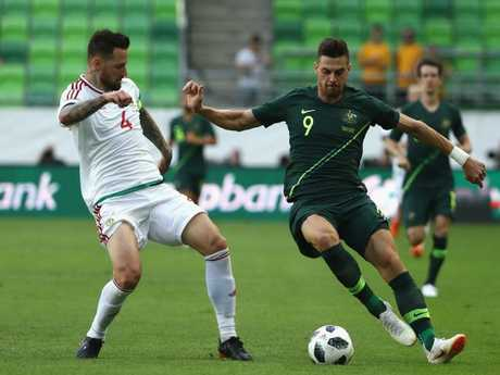 Tomi Juric has slipped in the pecking order upfront for Australia. Pic: Getty