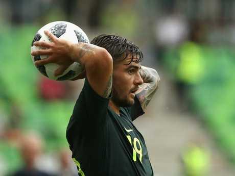 Josh Risdon is no longer a guarantee to be in Australia's first-choice XI. Pic: Getty