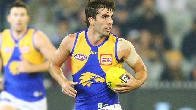 Andrew Gaff is on Melbourne's wish list.