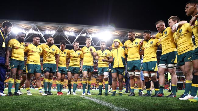 The Wallabies displayed a new-found resolve in their win over Ireland.