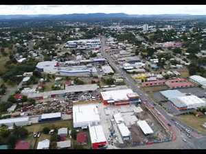 Aerial view of West Ipswich