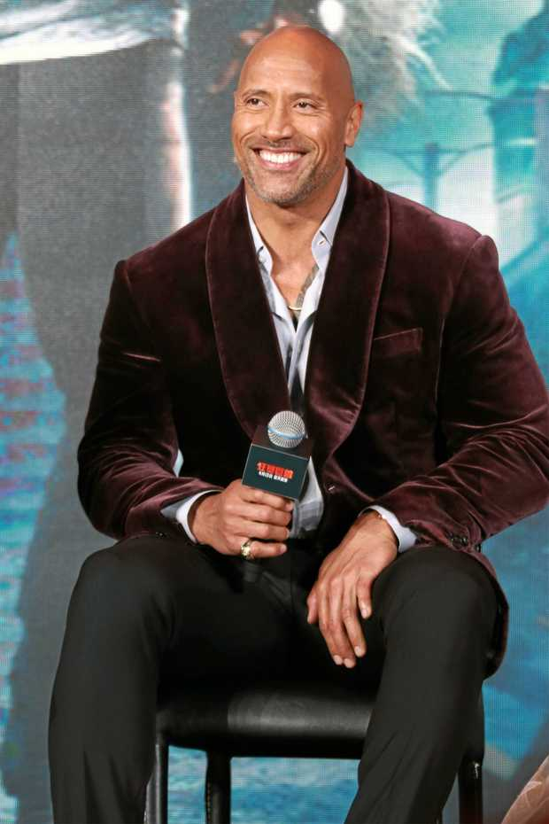 NEW MOVIE: Actor Dwayne Johnson will return to the big screen soon.