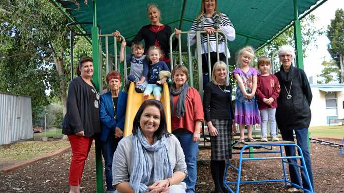FUN TIMES: Current and former staff of the Roderick Street Community Pre School and Kindergarten are excited for their 50th anniversary celebrations later this year.