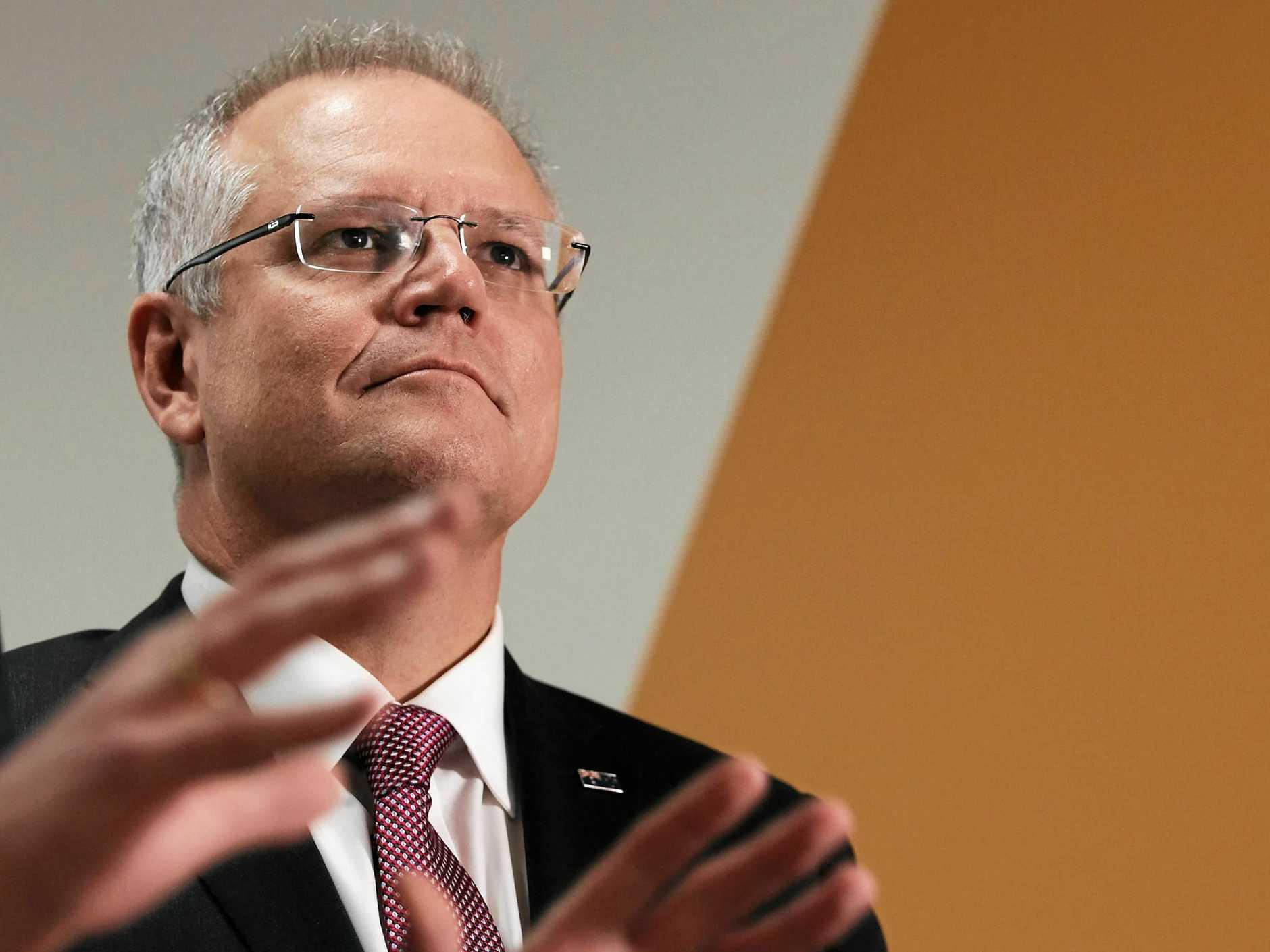 Federal Treasurer Scott Morrison.