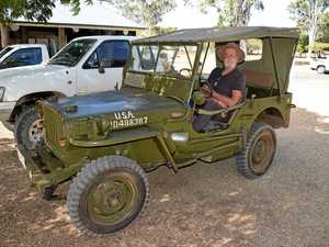 Rugged WW2 Jeep turns heads on Gladstone's streets
