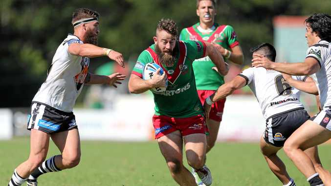 WELCOME: Ben Shea returned to face his former side as a member of the Ipswich Jets yesterday.