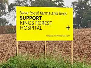 Community day to see Kings Forest hospital site