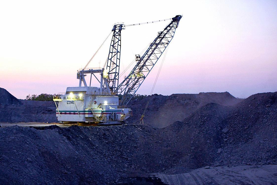 Blair Athol coal mine.