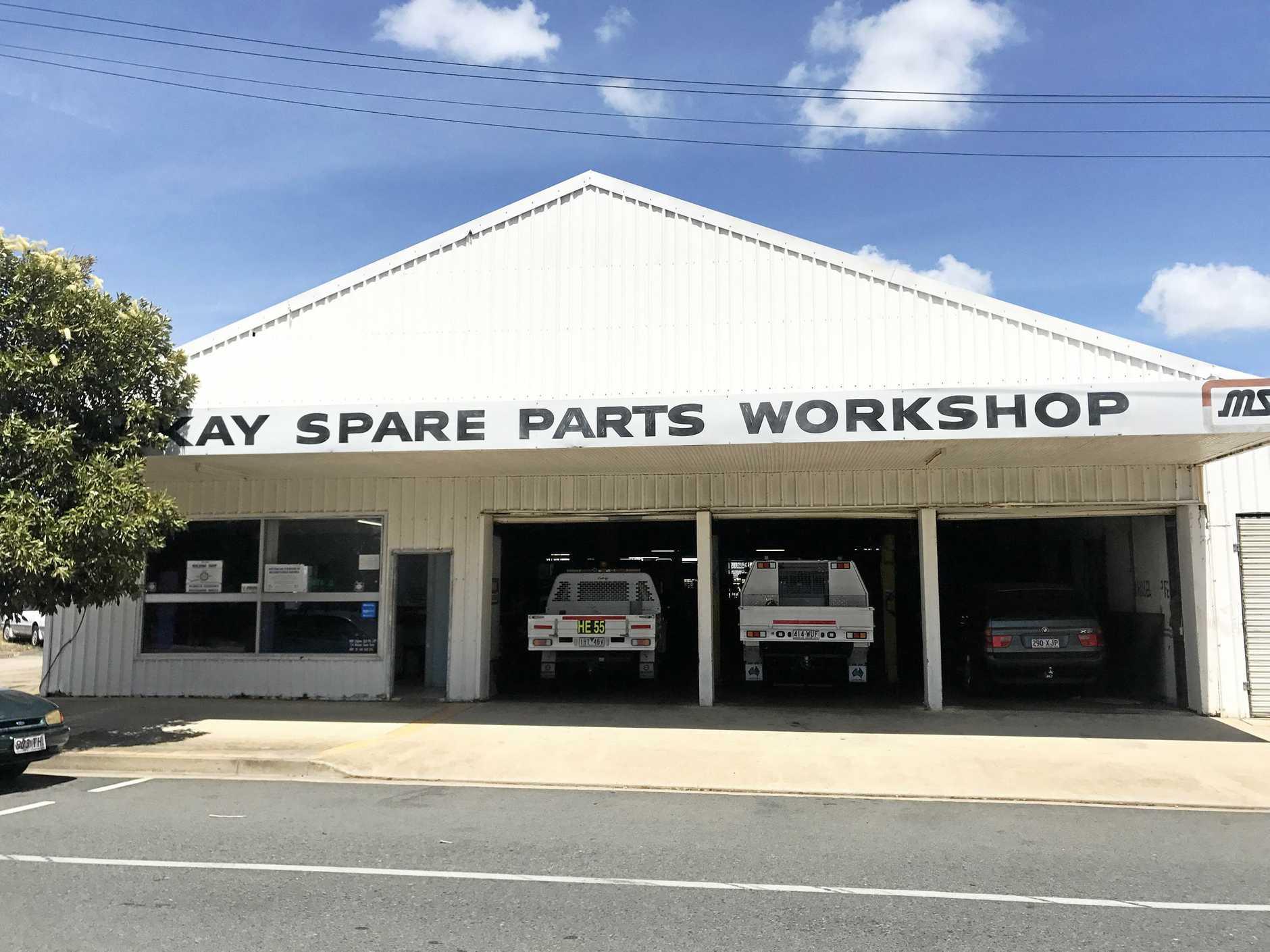 Mackay Spare Parts Workshop site.