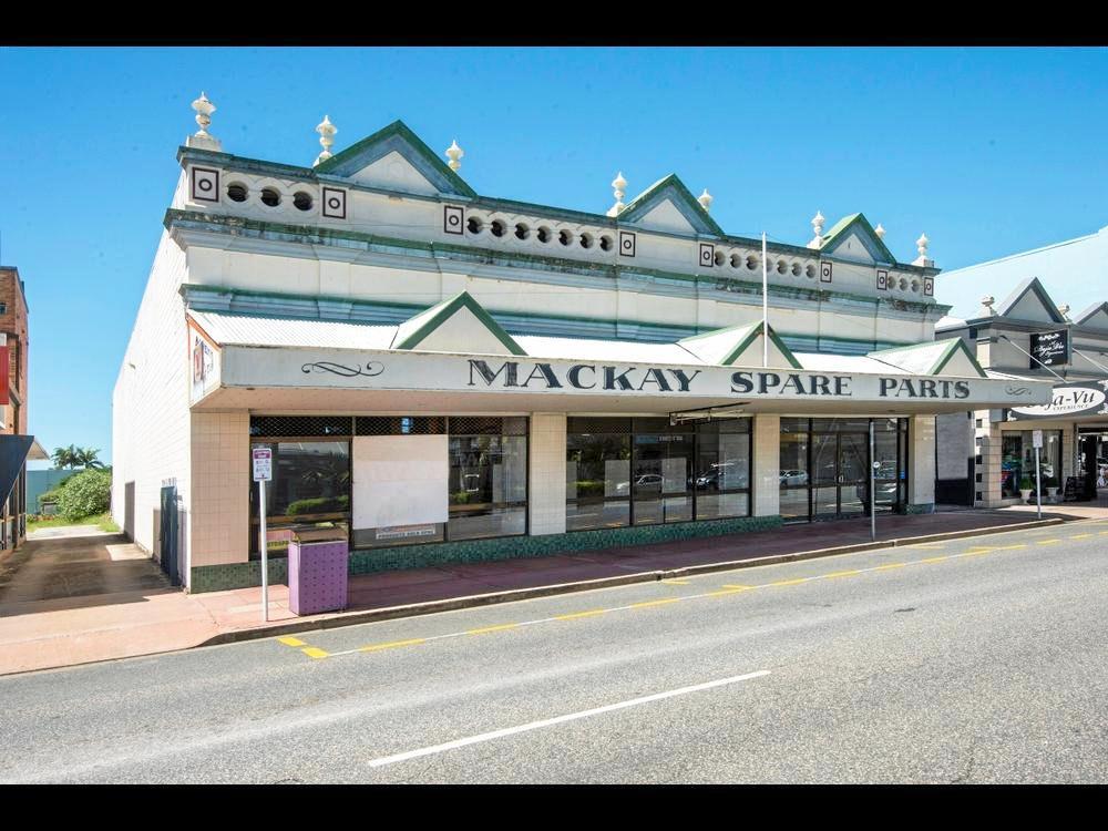 Mackay Spare Parts building.