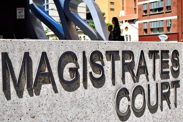 The two police officers had their cases mentioned at Brisbane Magistrates Court.