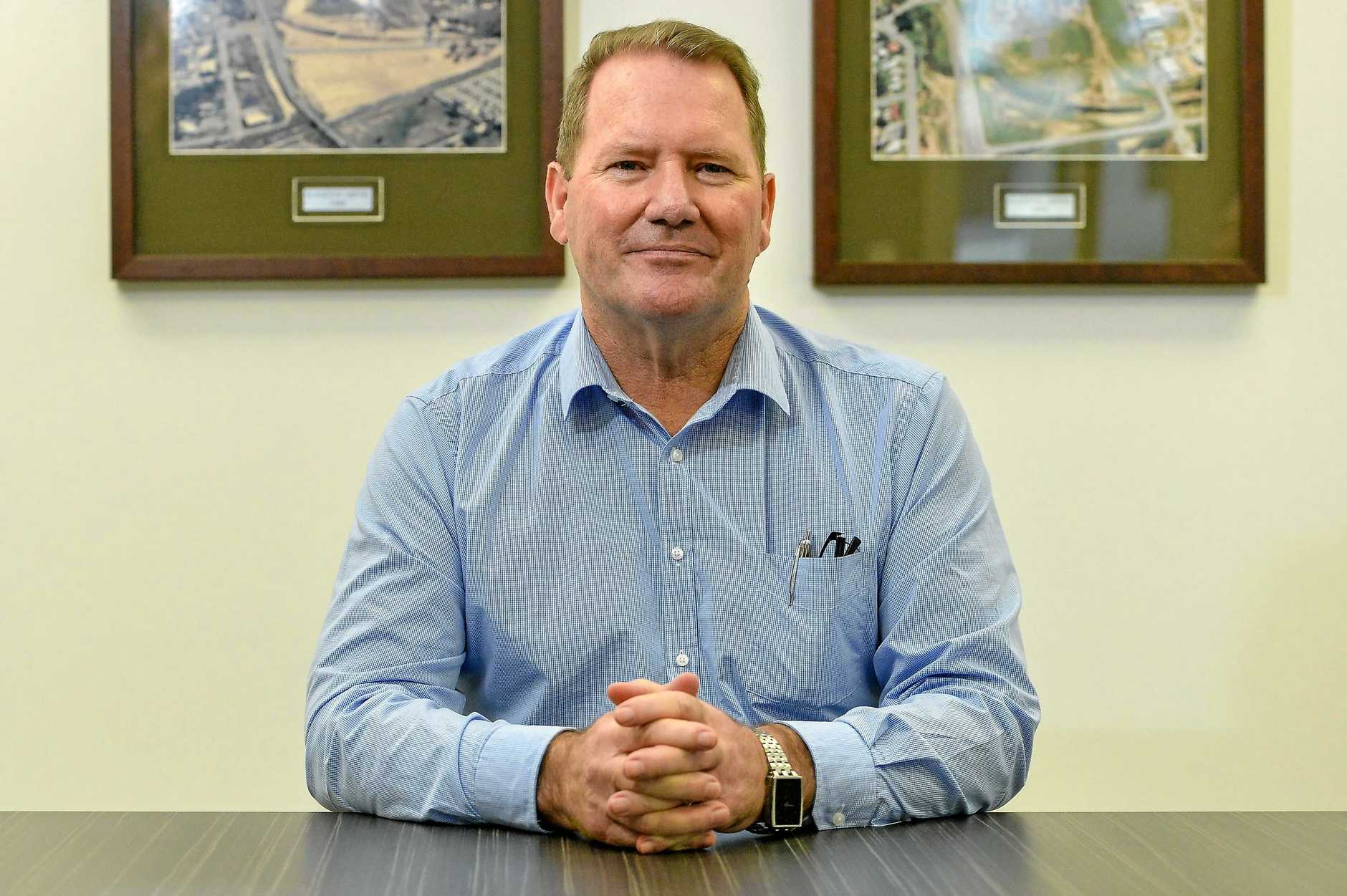 New Gladstone Airport Chief Executive Officer Colin Fort.