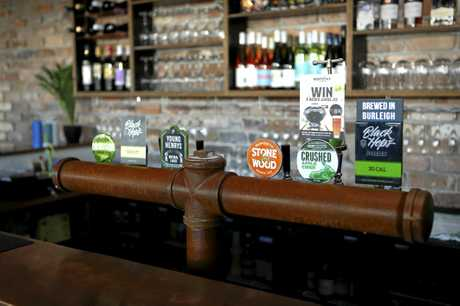 The Crafty Cow has a range of craft beers available on tap.
