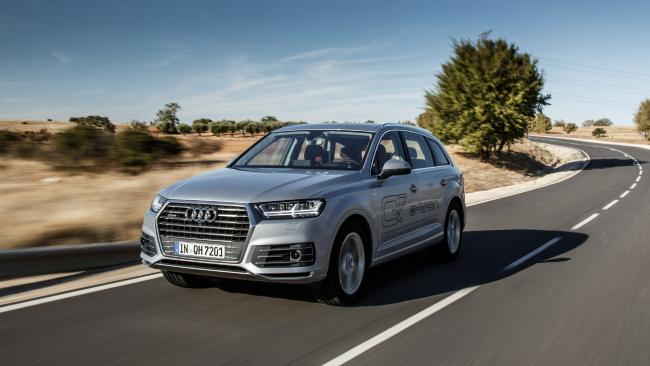 Audi Q7 E-Tron plug-in hybrid electric vehicle