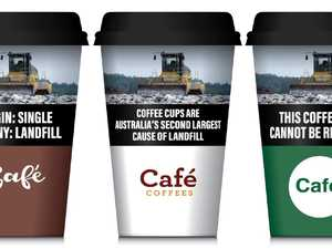 Call for cigarette style warnings on coffee cups