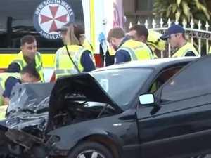 Man dies in horror bus crash