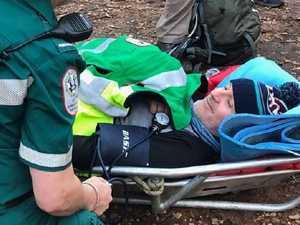 Former premier rescued while bushwalking