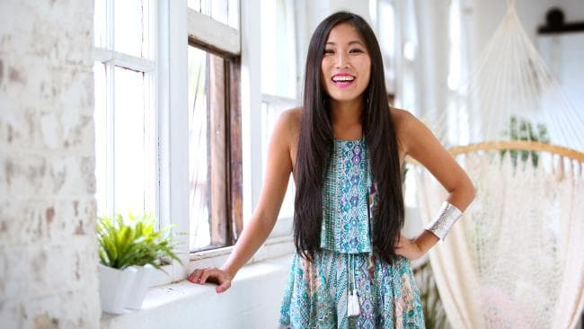 Jane Lu, founder of popular online fashion store ShowPo. Picture: Richard Dobson