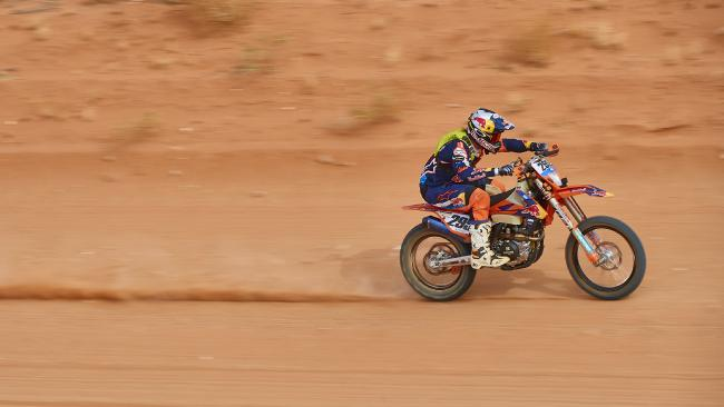 Toby Price in action. Picture: Toby Price Motorsport