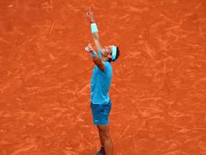 Nadal takes French Open again