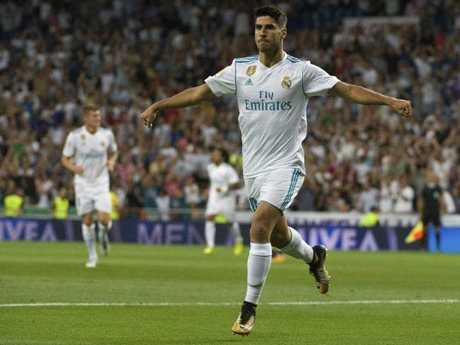 Marco Asensio has taken giant strides with Real Madrid this season.