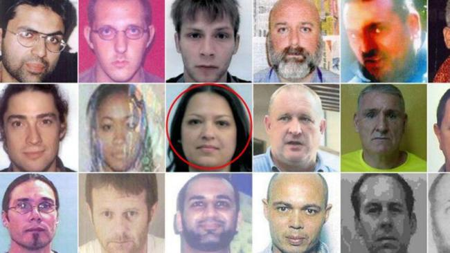 Adriana Barton's photograph and personal details appeared on a list of Interpol's most wanted criminals after a police bungle. Picture: SWNS/Mega